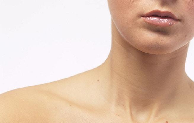 Cuidado parea cuello y escote