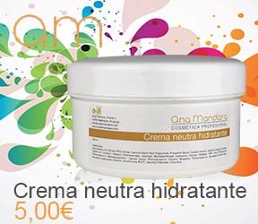 Crema neutra hidratante