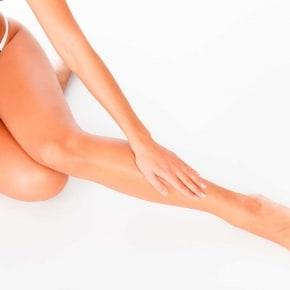 Alivio de las piernas cansadas en verano